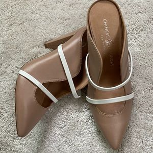 Malone Soulier dupe Chinese Laundry nude heels